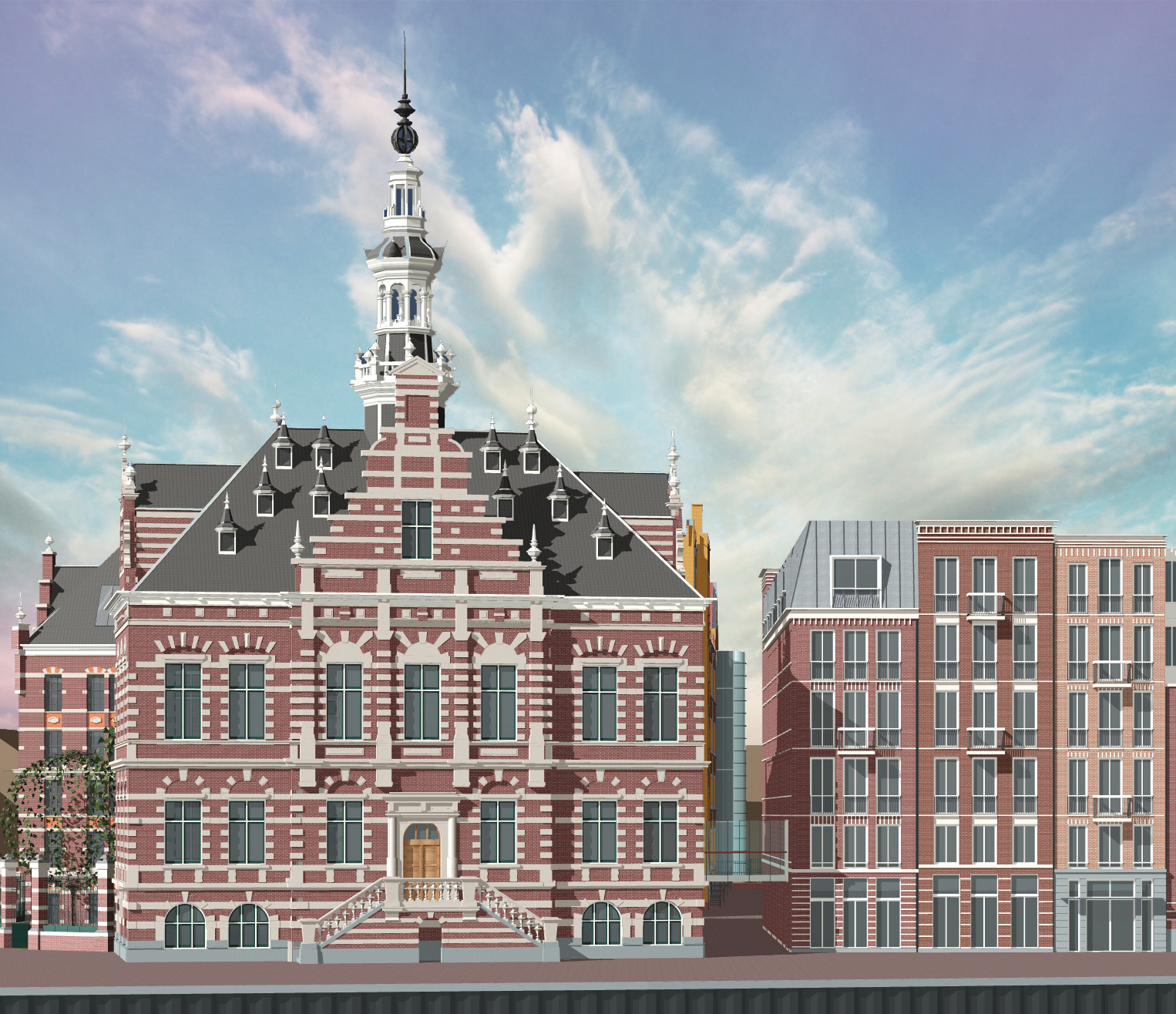 Voormalig Stadsarchief, Amsterdam